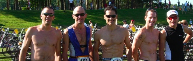 Culpeper Sprint Triathlon Age Groupers, August, 2008