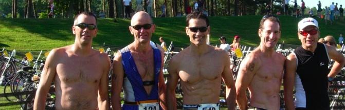 Culpeper Sprint Triathlon Age Groupers, August, 2008