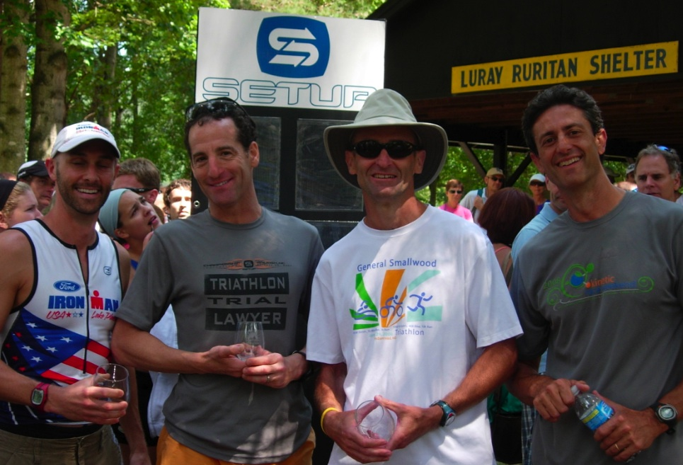 Luray Olympic Distance Triathlon Age Group Award Winners