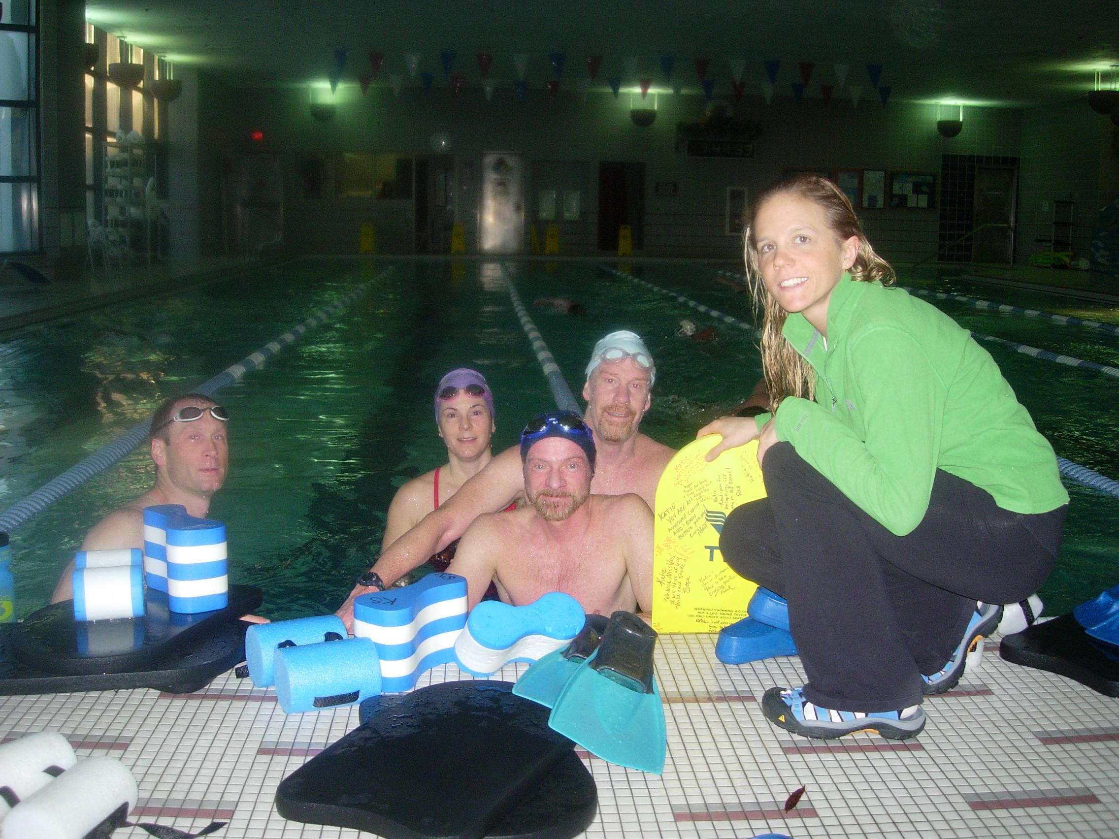 Coach Katie leading the Worldgate Sport & Health club