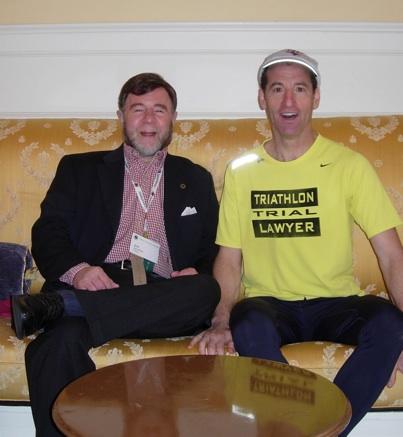 VTLA's Jack Harris & TriathlonTrialLawyer Doug Landau